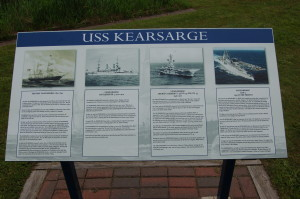 USS Kearsarge Plaque Michigan