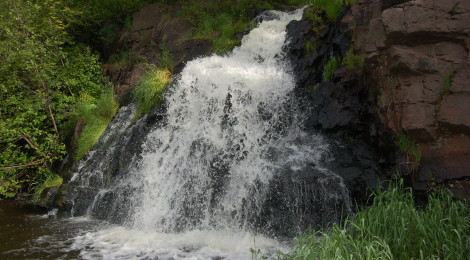 Warner Falls - A Marquette County Waterfall That's Easy To Get To