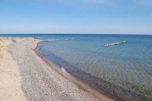 Whitefish Point Beach Michigan Superior