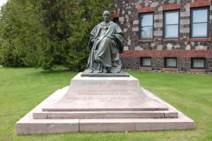 Alexander Aggasiz Statue Calumet Michigan