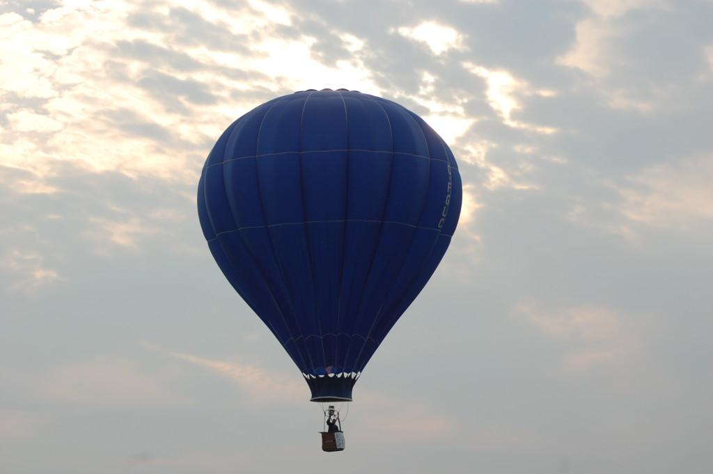 Balloon Battle Creek Airport Field of Flight