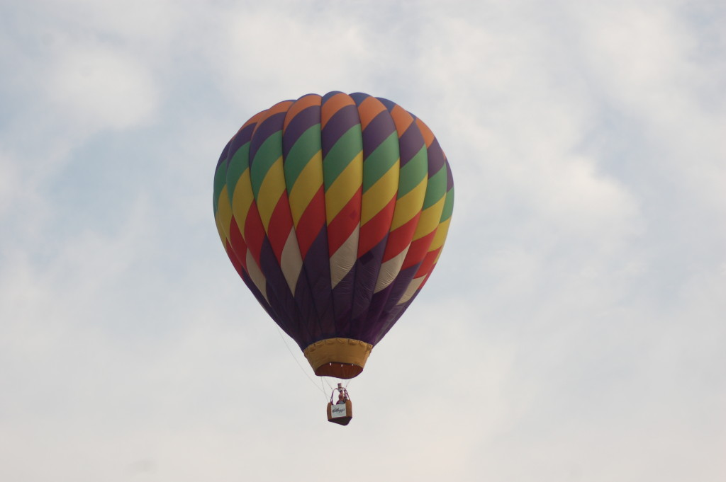 Battle Creek Balloon Show WK Kellogg