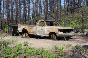 Duck Lake Fire 2012