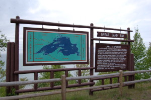 Great Sand Bay Keweenaw Sign