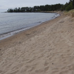 Michigan Roadside Attractions: Great Sand Bay in Keweenaw County