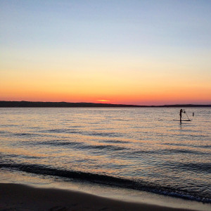 Sunset at Grand Traverse Bay