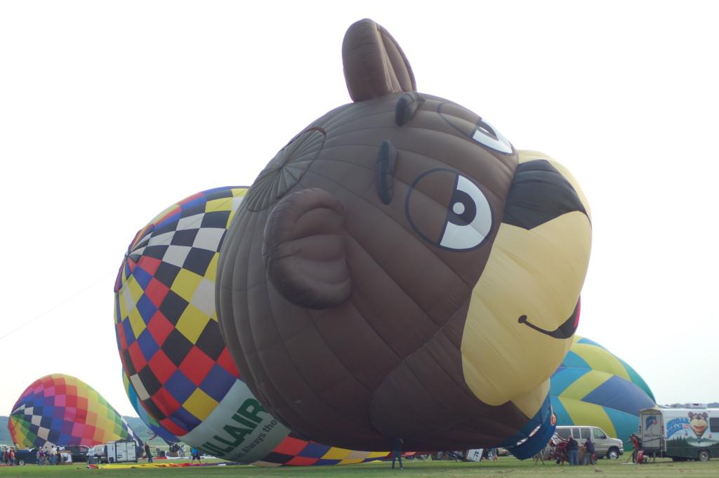 Sugar Bear Balloon Launch Battle Creek