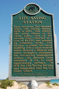 Two Hearted River Marker Side 1