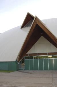 Up Close NMU Superior Dome