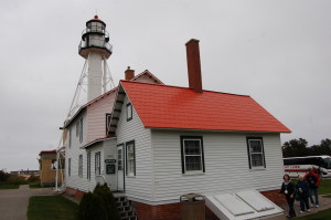 Whitefish Point Lighthouse Post Top Michigan