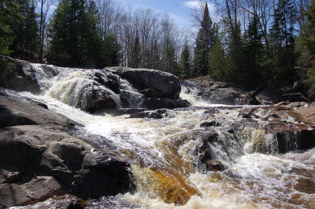 Yellow Dog Falls Upper Falls