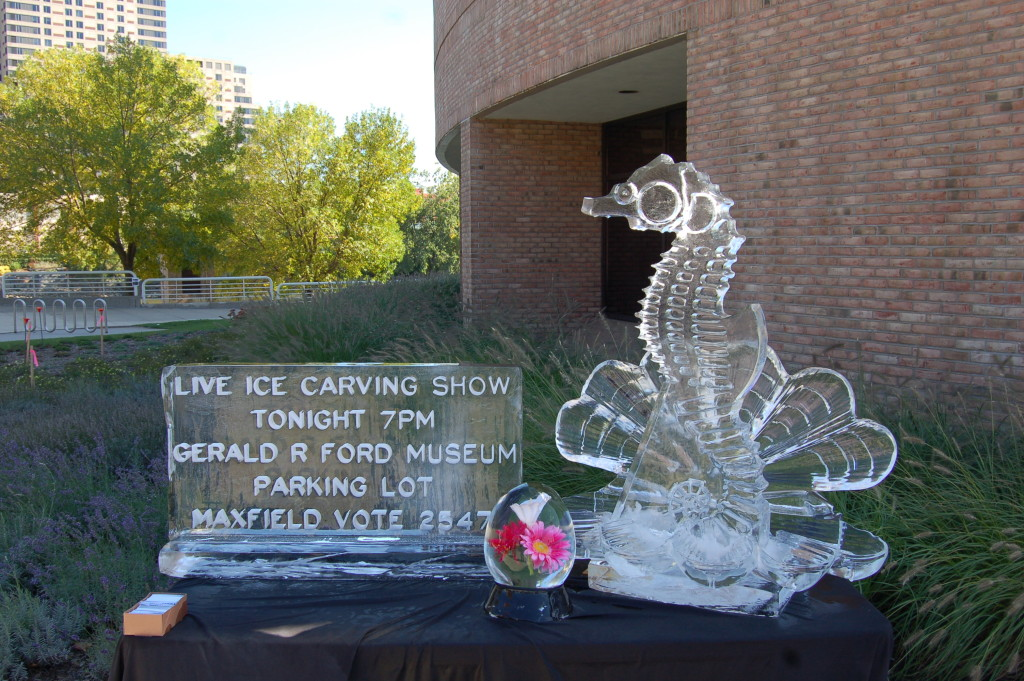 ArtPrize 2009 Ice Carving
