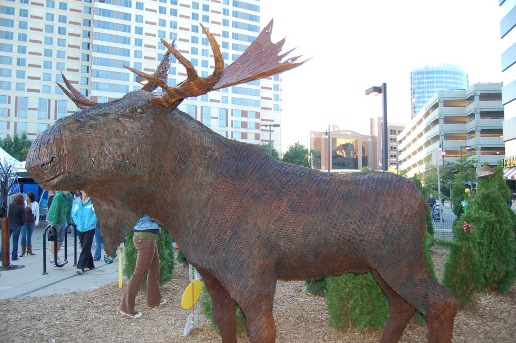 ArtPrize 2009 Moose Nails Bill Secunda