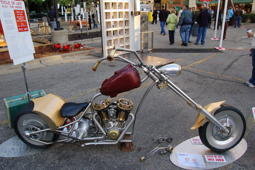 ArtPrize 2009 Motorcycle