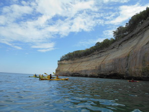 Pictured Rocks Kayak Lake Superior
