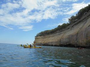 Pictured Rocks Kayak Lake Superior