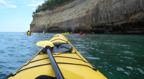 Photo Gallery Friday: Kayaking Pictured Rocks National Lakeshore With Uncle Ducky Outdoors