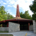 Father Marquette National Memorial at Straits State Park in St. Ignace