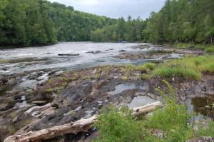 First Pier Rapids Menominee River Michigan