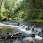 Haymeadow Falls and Campground – A Serene Waterfall in the Hiawatha National Forest