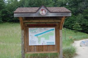 North Ottawa Dunes Trail Sign