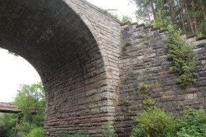 Ramsay Keystone Bridge Close Up View