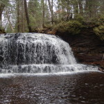 Rock River Falls – A Wilderness Waterfall in Alger County
