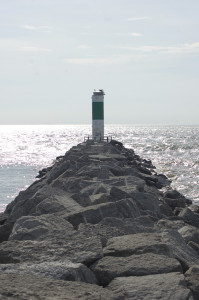 Alpena South Breakwater Light Michigan