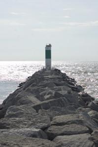 Alpena South Breakwater Light Michigan