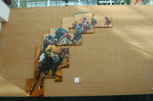 Art Prize 2010 Horse Racing Painting