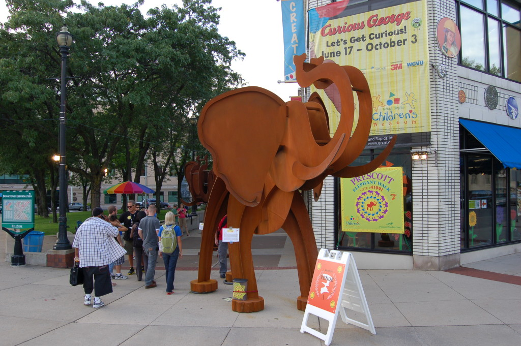 ArtPrize 2010 Elephants Walk