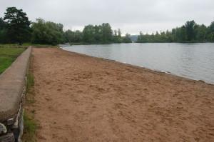 Bewabic State Park Beach Fortune Lake