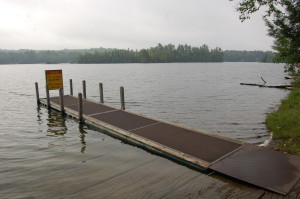 Bewabic State Park Boat Launch Michigan