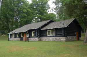 Bewabic State Park Michigan CCC Building