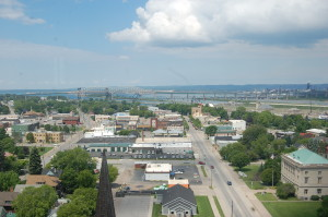 Downtown Sault Ste. Marie Tower of History