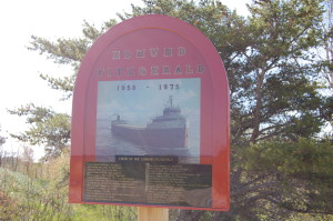 Edmund Fitzgerald Memorial Whitefish Point