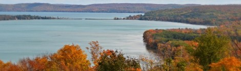 M-22 Highway in Michigan Offers Great Fall Color, Needs Your Vote in National Contest