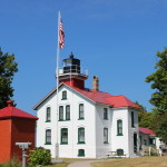Grand Traverse Lighthouse on Lake Michigan – Leelanau State Park
