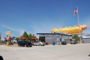 Parking Lot Wienerlicious Mackinaw City