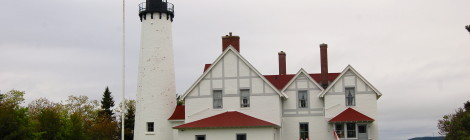 Point Iroquois Lighthouse - Climb the Tower for Great Views of Lake Superior and Canada