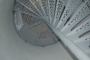 Point Iroquois Lighthouse Tower Stairs