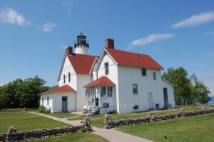 Pt. Iroquois Light Michigan Side View