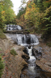 Sable Falls Pictured Rocks Autumn