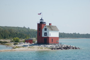 Somewhere in Time Round Island Lighthouse