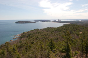 Sugarloaf Mountain Marquette Michigan