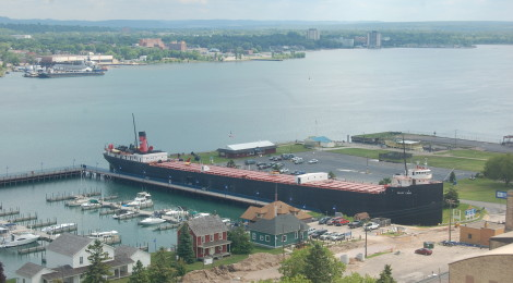 The Tower of History - Great Views of Sault Ste. Marie From 210 Feet Above It