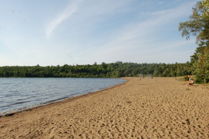 Van Riper State Park Beach