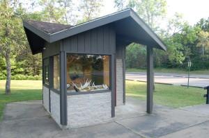 Van Riper State Park Moose Kiosk