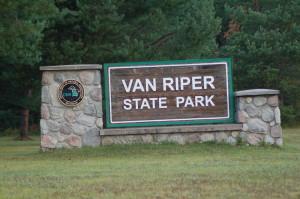 Van Riper State Park Sign