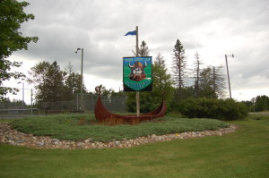 Viking Ship Norway Michigan Park